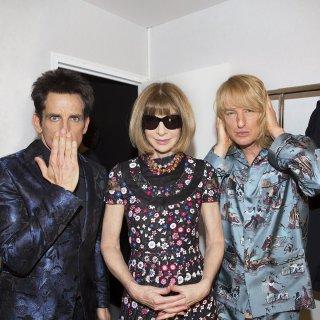 Zoolander 2 - Ben Stiller ed Owen Wilson alla Fashion Week di Parigi con Anna Wintour