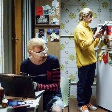 La solita commedia - Inferno: Francesco Mandelli insieme a Fabrizio Biggio in una scena della commedia