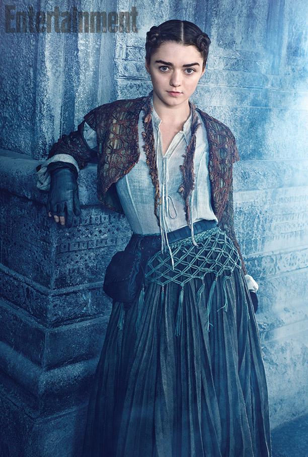 il trono di spade: il nuovo look di Arya nella quinta stagione