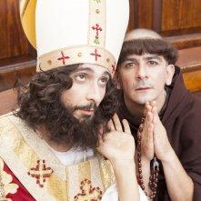 La solita commedia - Inferno: Francesco Mandelli e Fabrizio Biggio in una scena della commedia