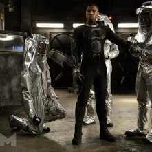 Fantastic 4 - I Fantastici Quattro: Michael B. Jordan in una scena del film