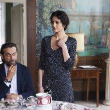 Latin Lover: Jordi Mollà con Cecilia Zingaro in una scena del film