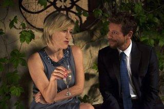 Latin Lover: Valeria Bruni Tedeschi con Claudio Gioè in una scena del film