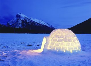 Un igloo misterioso