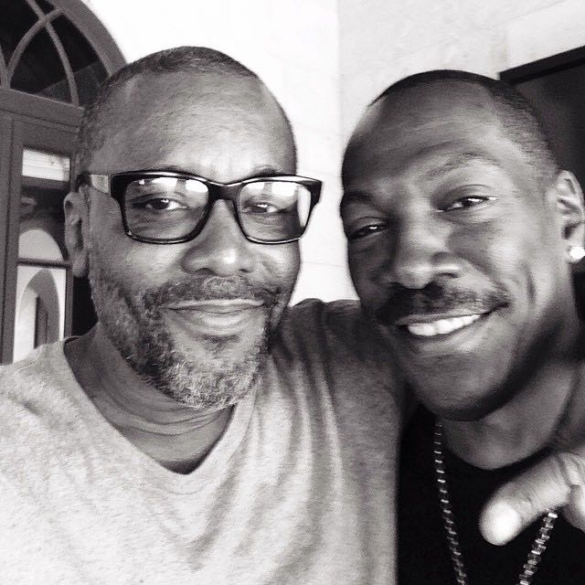 Lee Daniels e Eddie Murphy in un'immagine
