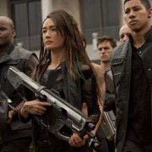 The Divergent Series - Insurgent: Maggie Q in una scena