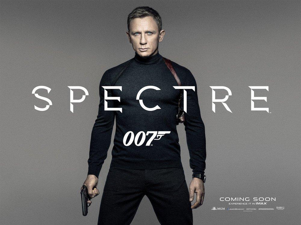 Spectre il teaser poster del film