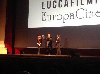 Terry Gilliam riceve il premio onorario del Lucca Film Festival