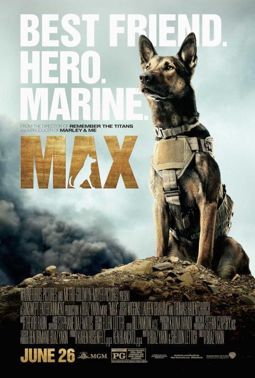 Max: il primo poster del film