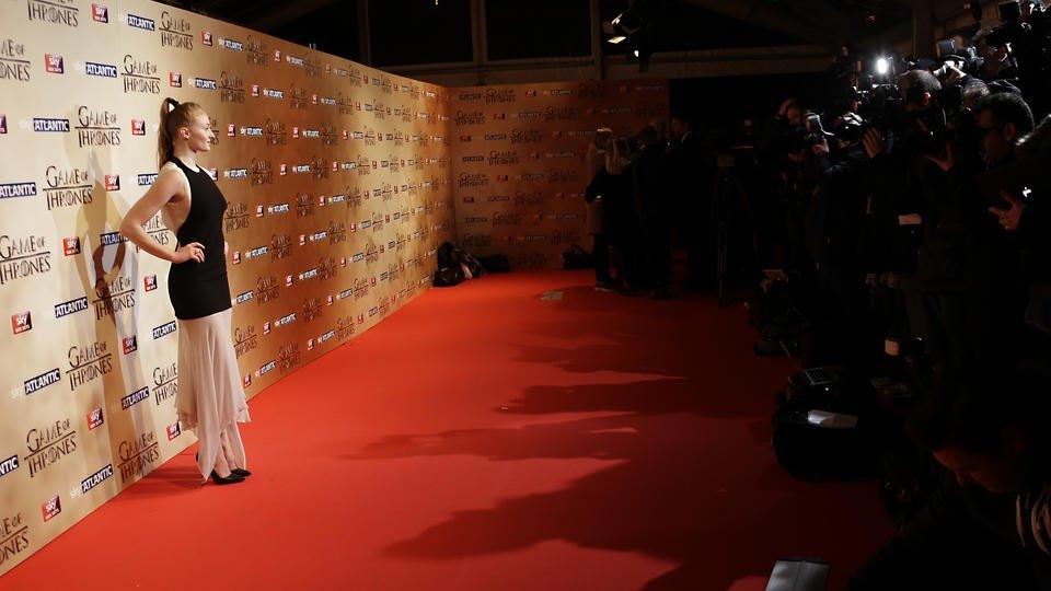 Il trono di spade 5 - una foto di Natalie Dormer alla premiere di Londra