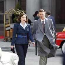 Agent Carter: Hayley Atwell e Chad Michael Murray in una scena della puntata Valediction