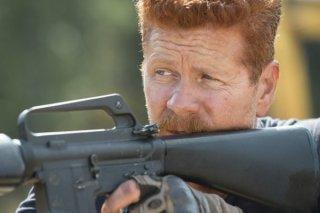 The Walking Dead: l'attore Michael Cudlitz in una scena dell'episodio Spend