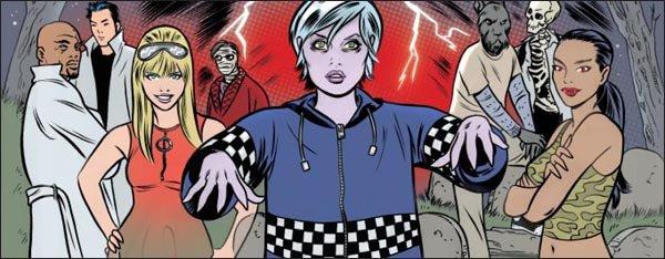 iZombie: un'immagine del fumetto da cui è tratta la serie CW