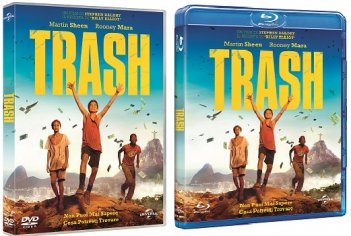 Le cover homevideo di Trash