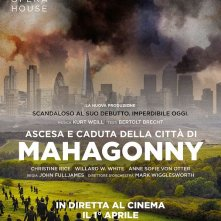Locandina di Royal Opera House - Ascesa e discesa della città di Mahagonny