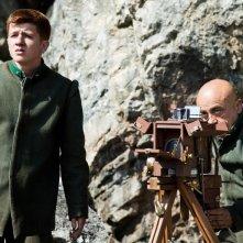 Soldato semplice: Paolo Cevoli in una scena del film con il giovane Antonio Orefice