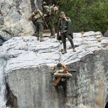 Soldato semplice: Matteo Cremon in una scena del film