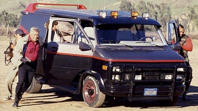 Orginal A Team Gmc Van
