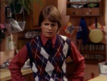 Casa Keaton: Michael J. Fox è Alex P. Keaton