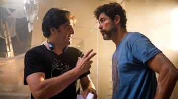 Se Dio Vuole: Alessandro Gassman con il regista Edoardo Falcone sul set