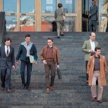 1992: alcuni protagonisti mentre escono da un tribunale
