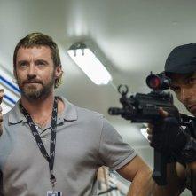 Humandroid: Hugh Jackman in un'immagine del film