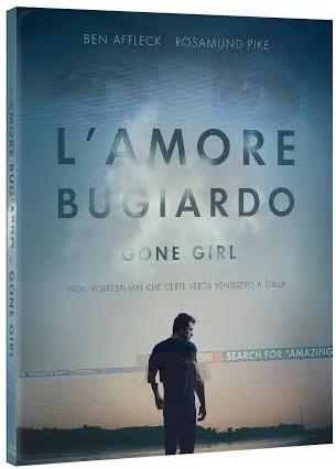 la cover del blu-ray di L'amore bugiardo - Gone Girl