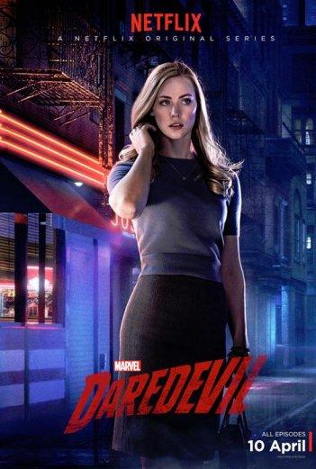 Daredevil: il character poster di Karen Page