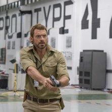 Hugh Jackman in una scena di Humandroid