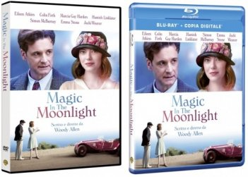 Le cover homevideo di Magic in the Moonlight
