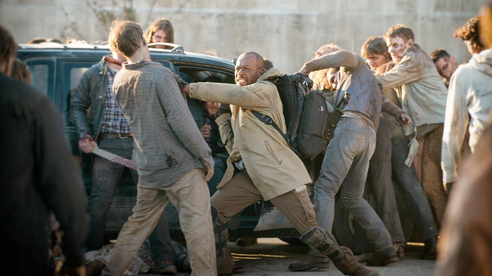 The Walking Dead: Lennie James lotta nel finale della stagione 5