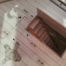 Inferno: un dettaglio del modellino utilizzato per ideare la sequenza d'apertura