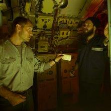 Black Sea: Jude Law con Grigoriy Dobrygin in una scena