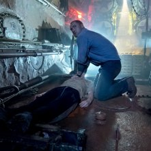 Black Sea: Jude Law in una drammatica scena del film