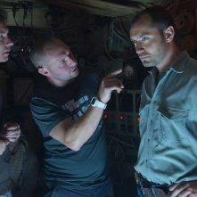 Black Sea: Jude Law sul set con il regista Kevin Macdonald e il direttore della fotografia Christopher Ross