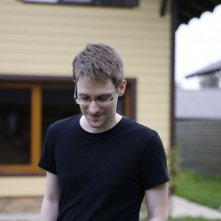 Citizenfour: Edward Snowden in una scena del documentario
