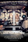 Locandina di Live From New York!