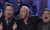 Michael Keaton: il cast del SNL lo supplica di essere ancora Batman