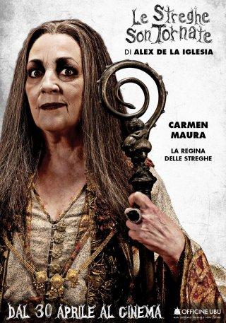 Le streghe son tornate: character poster di Carmen Maura