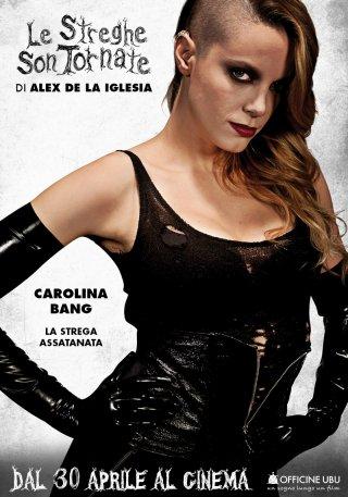 Le streghe son tornate: character poster di Carolina Bang