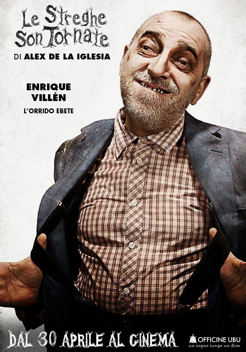 Le streghe son tornate: character poster di Enriqe Villen