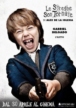 Le streghe son tornate: character poster di Gabriel Delgado