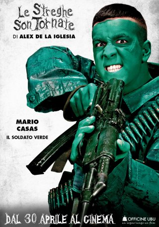 Le streghe son tornate: character poster di Mario Casas