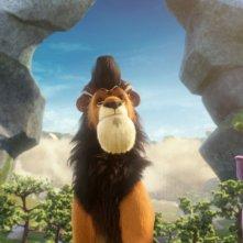 Ooops! Ho perso l'arca: l'eleganza del Leone in una scena del film animato
