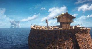 Ooops! Ho perso l'arca: una scena del film d'animazione