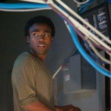 The Lazarus Effect: Donald Glover è Niko in una scena del film horror