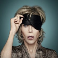 Grace and Frankie: Jane Fonda in una locandina