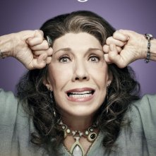 Grace and Frankie: Lily Tomlin in un poster promozionale