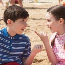 Le vacanze del piccolo Nicolas: Mathéo Boisselier con Erja Malatier in un'immagine del film