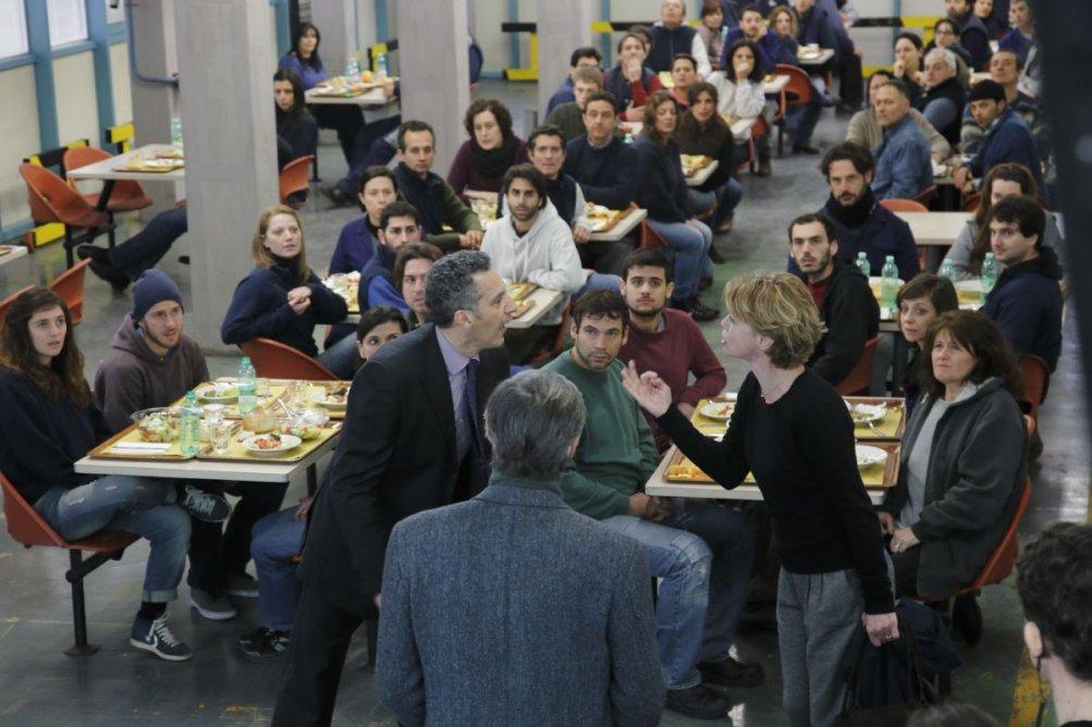 Mia madre: Margherita Buy litiga con John Turturro in una scena